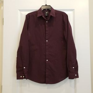 H&M slim fit button up